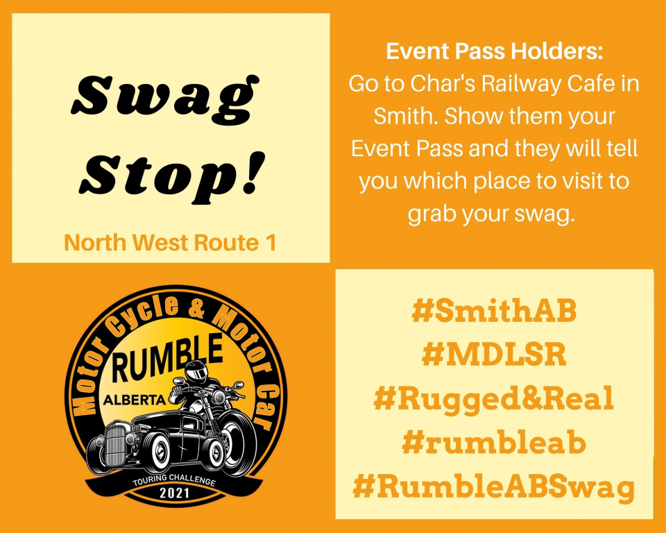 Rumbling the North West?  Here are the 4 Swag Stops ready to go.