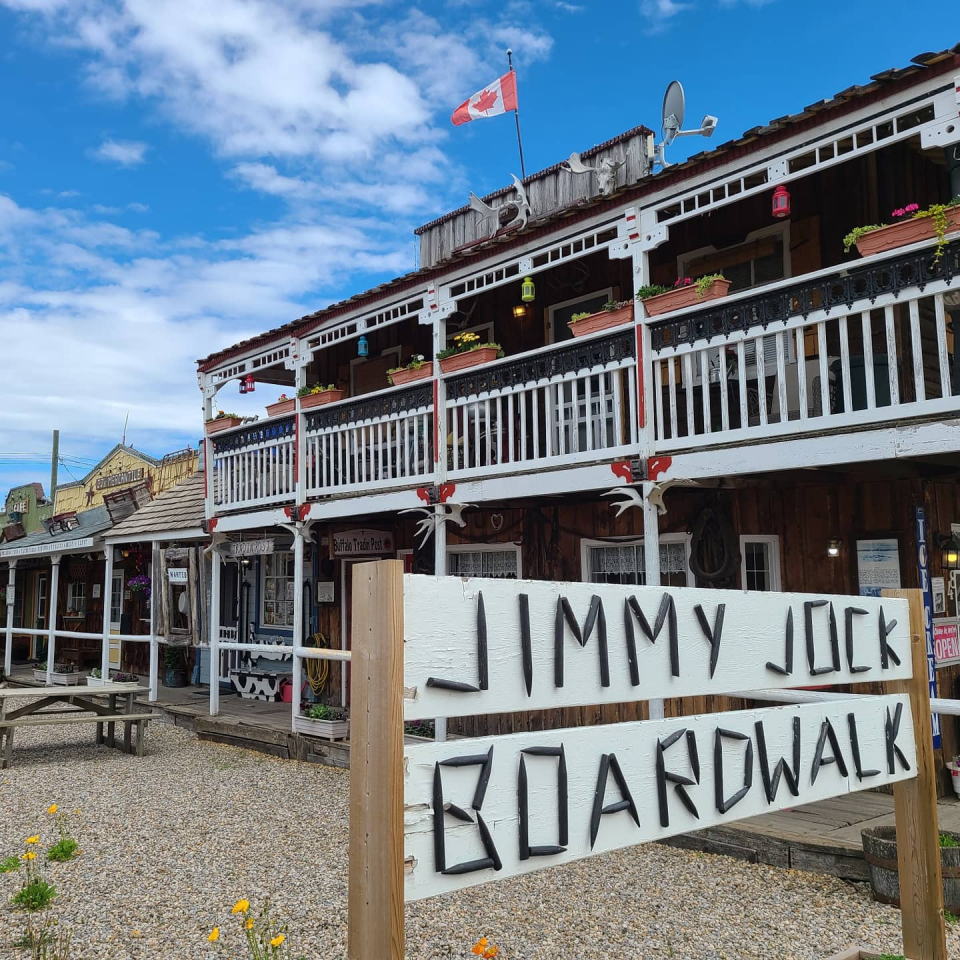 We've got our own little frontier town hidden in Big Valley!  The Jimmy Jock Boardwalk is home to some adorable local shops, like Granny's Fudge Factory and some other eclectic provisions. You'll feel as though you just stepped into an old duster film!