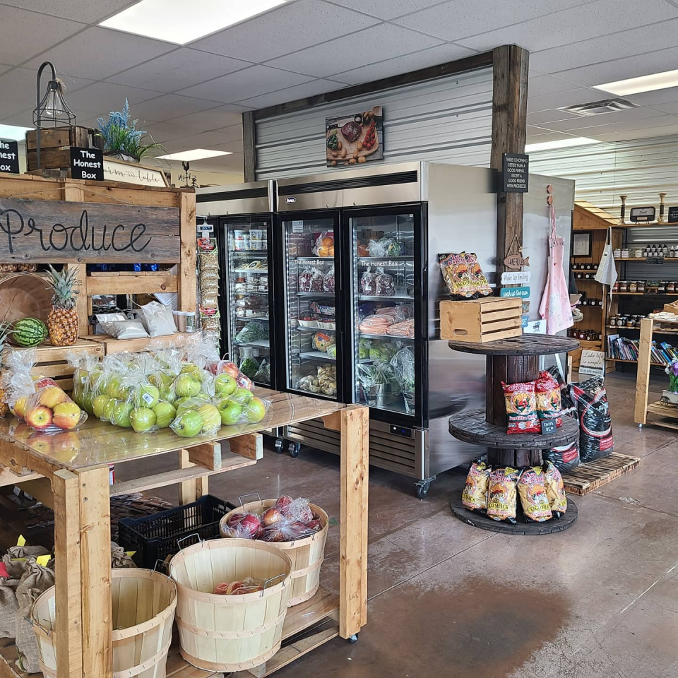 This little shop in Carstairs may just be you new favourite spot! The Farm Table is a super cute market with all sorts of local vendors, from produce to proteins to preserves. The vendors rent their spaces, so there is no premium added to the prices, which means more money goes directly back to supporting the farms and producers. Gotta love that!