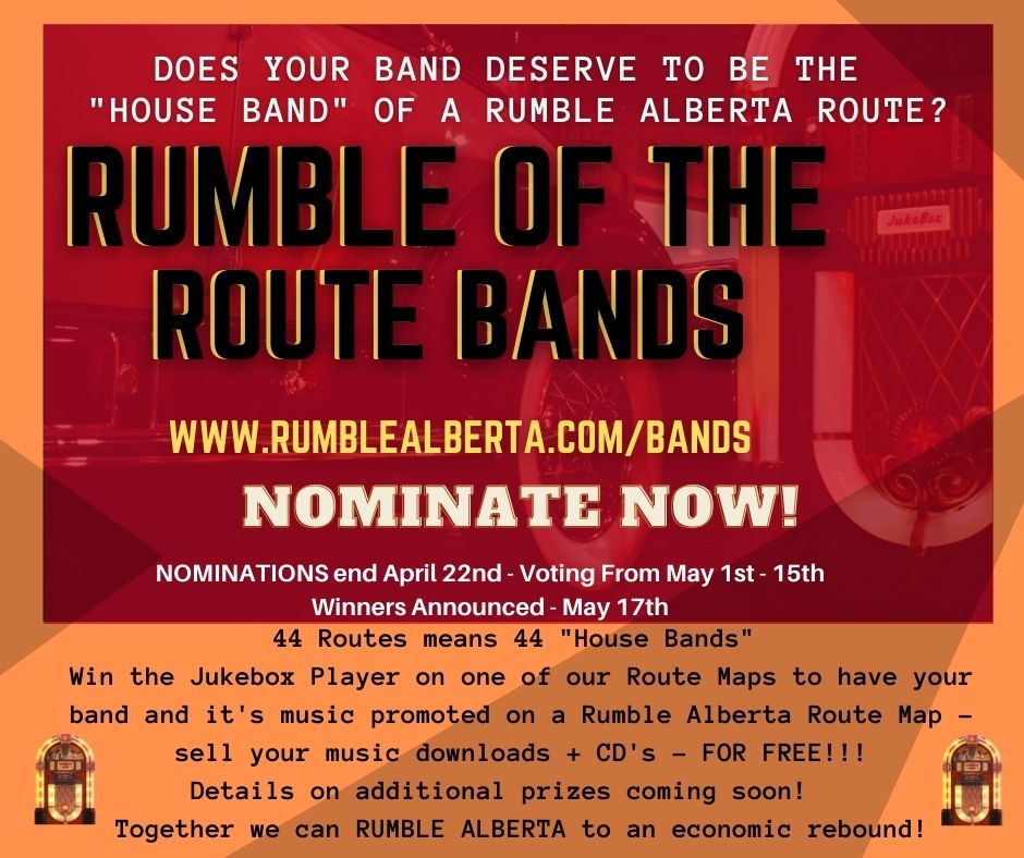 Rumble Alberta Rumble of the Route Bands